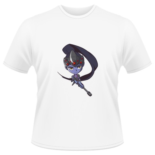 Tricou Overwatch Widowmaker Cute - SPRAY