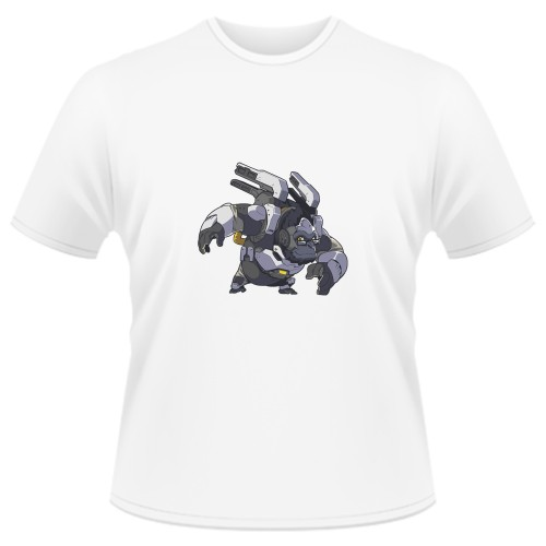 Tricou Overwatch Winston Cute - SPRAY