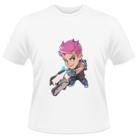 Tricou Overwatch Zarya Cute - SPRAY