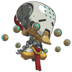 Tricou Overwatch Zenyatta Cute - SPRAY