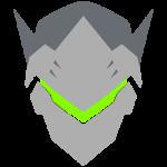 Tricou Overwatch Genji Icon - SPRAY