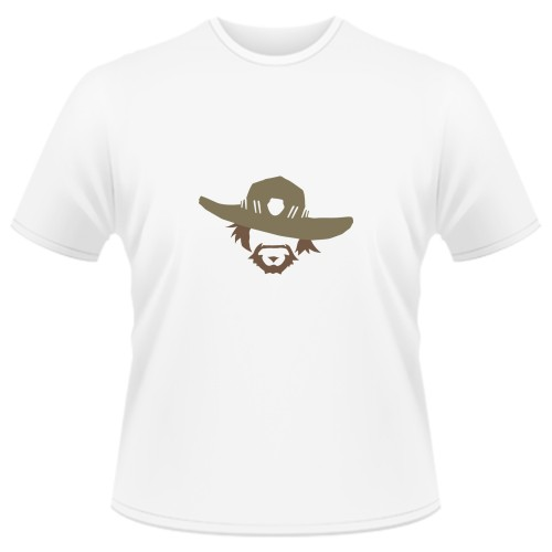 Tricou Overwatch McCree Icon - SPRAY