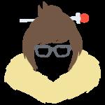 Tricou Overwatch Mei Icon - SPRAY
