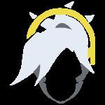 Tricou Overwatch Mercy Icon - SPRAY