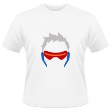 Tricou Overwatch Soldier 76 Icon - SPRAY