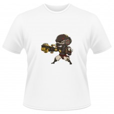 Tricou Overwatch Doomfist Cute - SPRAY