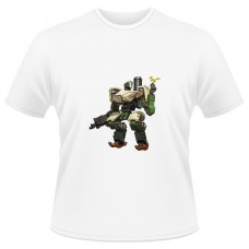 Tricou Overwatch - Bastion