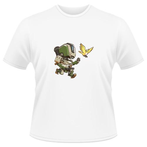 Tricou Overwatch Bastion Cute - SPRAY