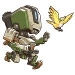 Tricou Overwatch Bastion Cute - SPRAY
