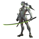 Tricou Overwatch - Genji