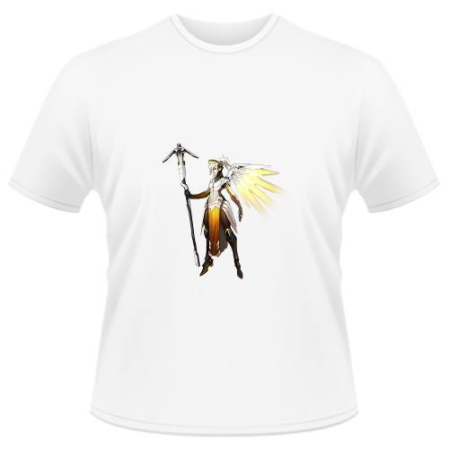 Tricou Overwatch - Mercy