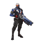 Tricou Overwatch - Soldier 76