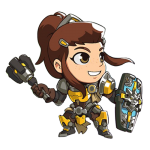 Tricou Overwatch Brigitte Cute - SPRAY