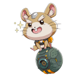Tricou Overwatch Wrecking Ball (Hammond) Cute - SPRAY
