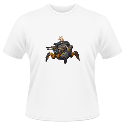 Tricou Overwatch - Wrecking Ball (Hammond)