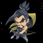 Tricou Overwatch Hanzo Cute - SPRAY