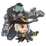 Tricou Overwatch Ashe Cute - SPRAY