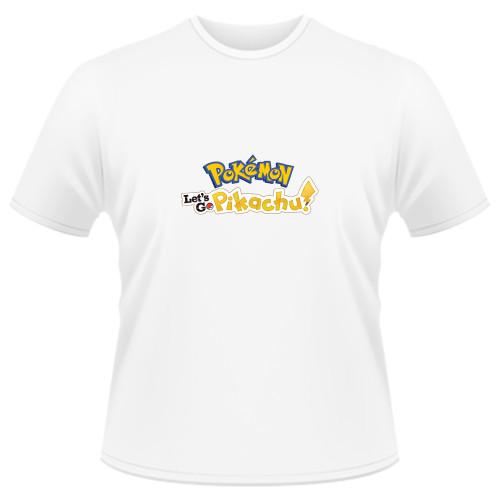 Tricou Pokemon Let's Go Pikachu - LOGO