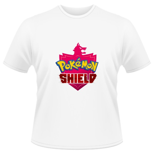 Tricou Pokemon Shield - LOGO