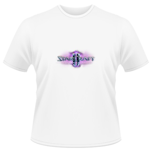 Tricou Starcraft 2 Heart of the Swarm - LOGO