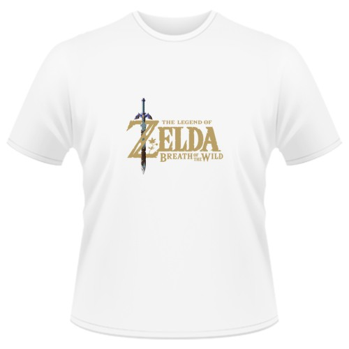 Tricou The Legend of Zelda Breath of the Wild - LOGO