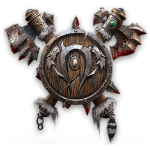 Tricou Warcraft 3 Orcs - LOGO