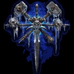 Tricou Warcraft 3 Undead - LOGO