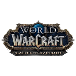 Tricou World of Warcraft Battle for Azeroth - LOGO