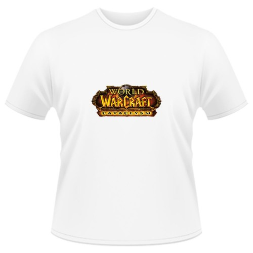 Tricou World of Warcraft Cataclysm - LOGO
