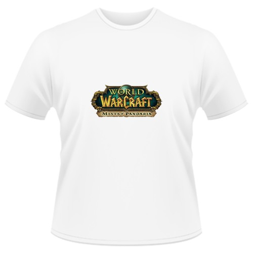 Tricou World of Warcraft Mists of Pandaria - LOGO