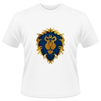 Tricou World of Warcraft Alliance - LOGO