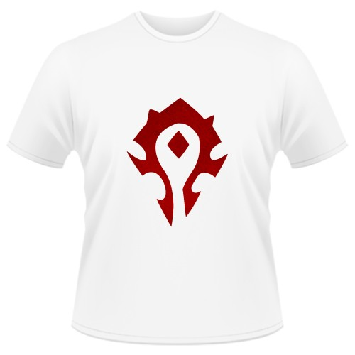 Tricou World of Warcraft Horde - LOGO