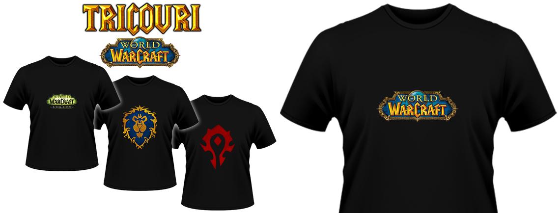 Tricouri World of Warcraft